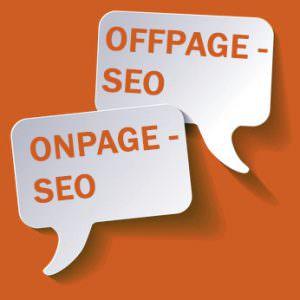 Onpage-Seo, Offpage-Seo